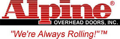 Alpine Overhead Door Logo