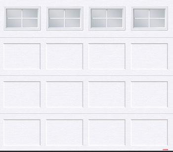 Standard+ Shaker CC, 8' x 7', Ice White, 4 lite Orion windows
