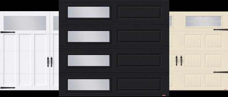 Portes de garage Eastman E-13, Standard+ Classique XL et Standard+ North Hatley SP