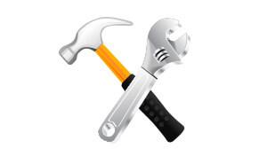 Icône réparation et maintenance