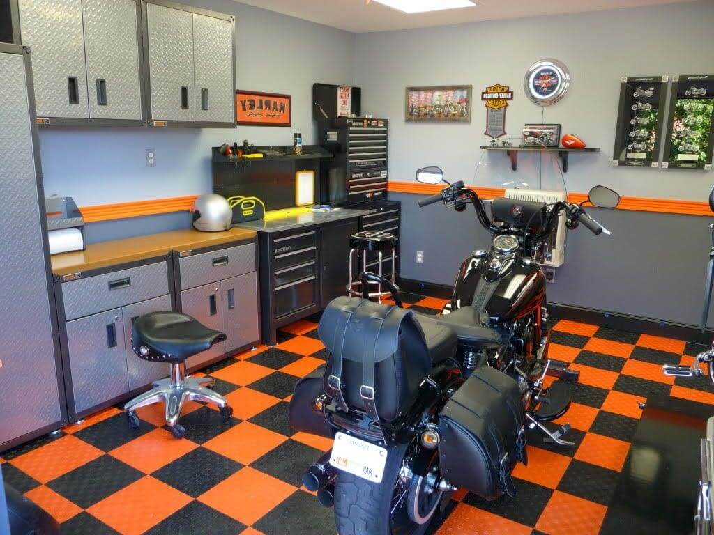 What do you think of this garage floor? See other ideas from Wonderful Engineering