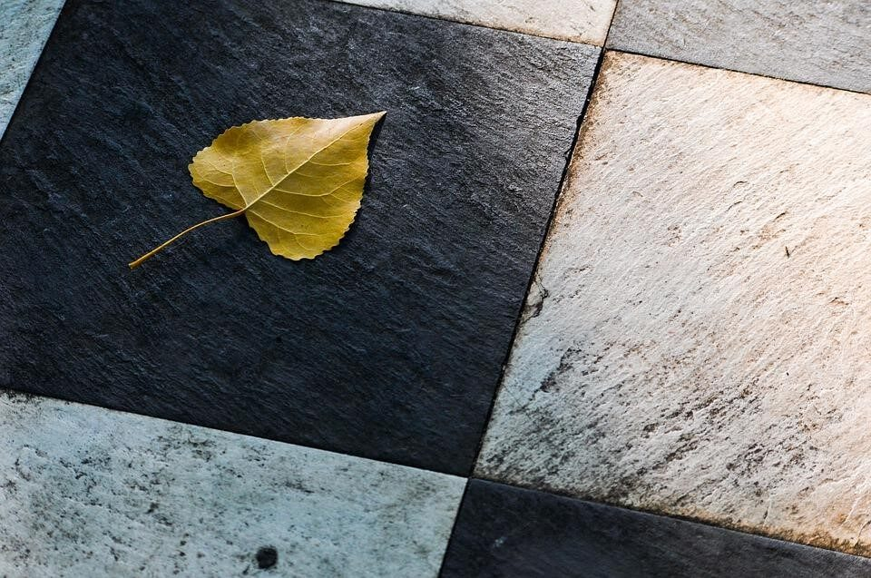Tile looks great. It is also durable and easy to keep clean.