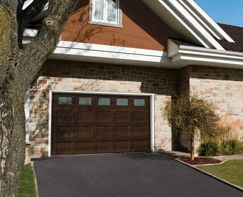 Garage door insulated, Standard+ Shaker CC
