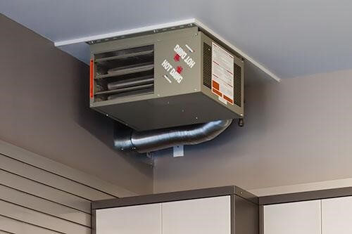 Natural gas direct vent system.