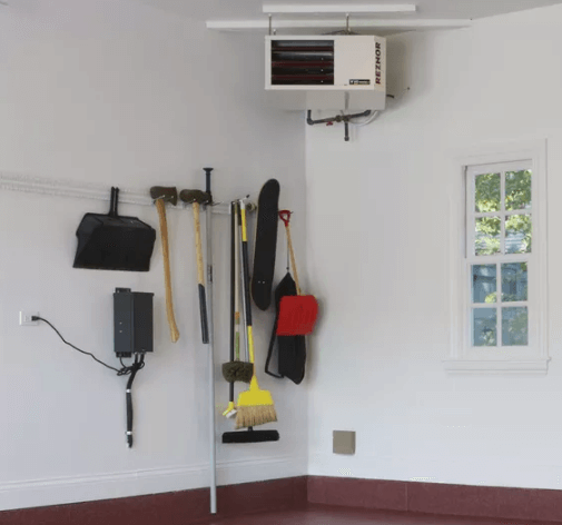 Heating your garage means having more living space.