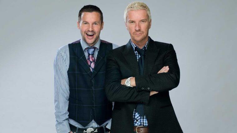 Justin et Colin, le fameux duo de designers écossais.