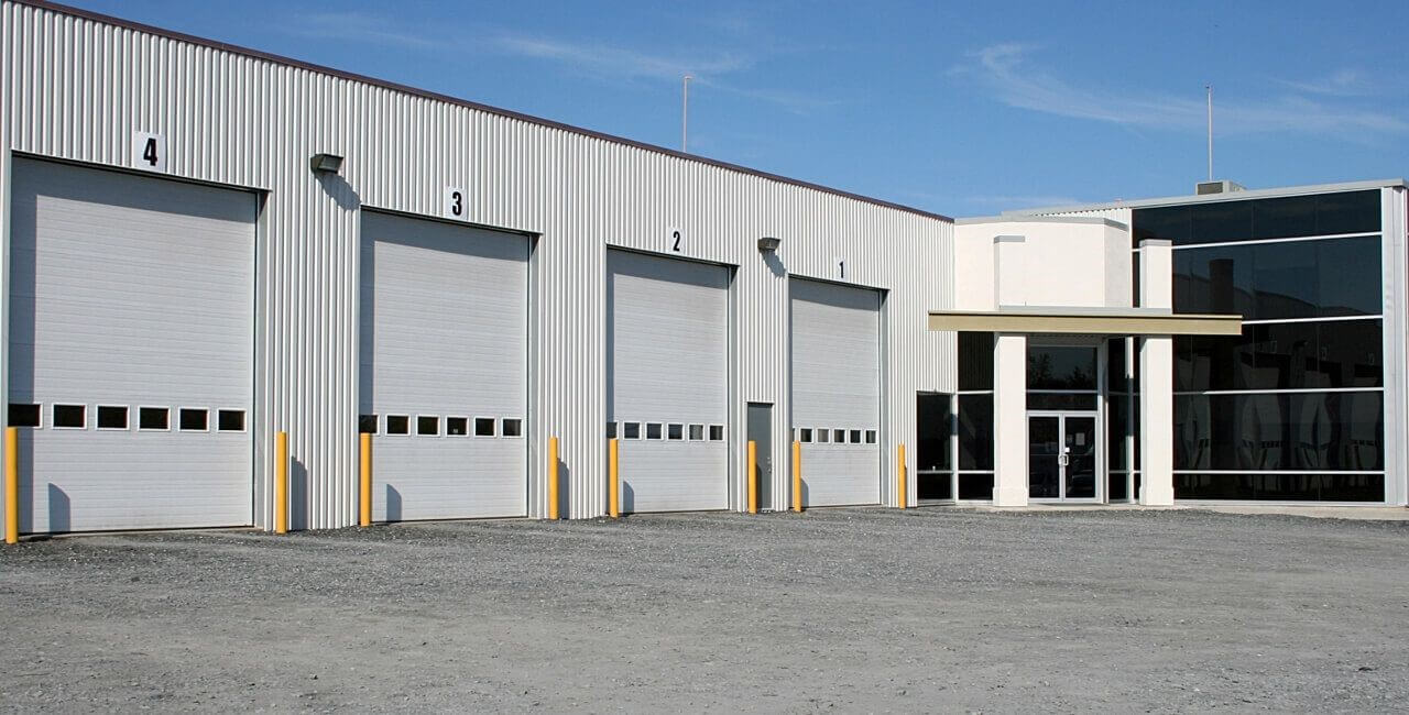 Modèle de portes commerciales: G-5000, 14' x 16', Blanc glacier
