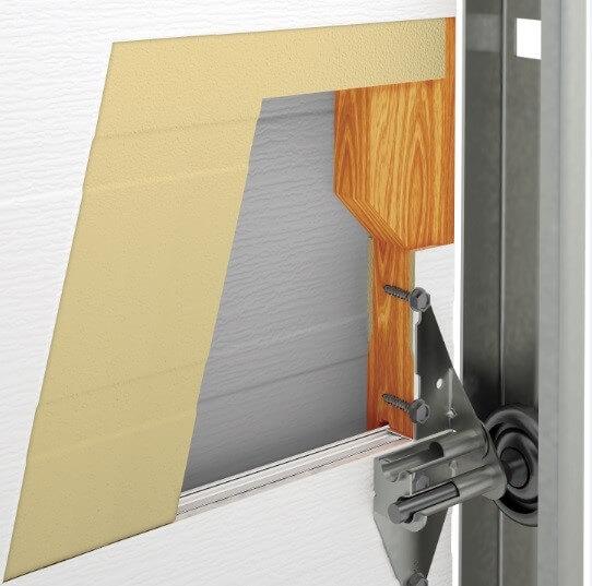 Porte G-5000: Construction intérieure des panneaux