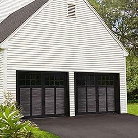 Princeton P-12, 8' x 7', Noyer minerai de fer et moulures Noir, fenêtres Panoramique 8 carreaux