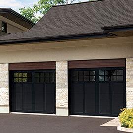 Princeton P-12, 9' x 8', portes et moulures Noir, fenêtres Panoramique 8 carreaux