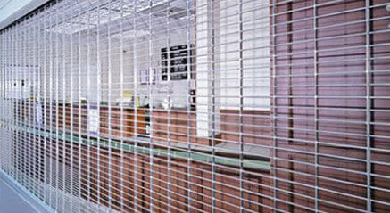 Cookson - Rolling Security Grilles - ESG10, ESG11 and ESG12