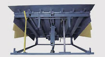 I.V. Dock Ramp - Niveleur de quai mécanique pneumatique - Série C et Série I