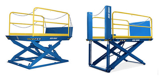 Blue Giant - Dock lifts LoMaster