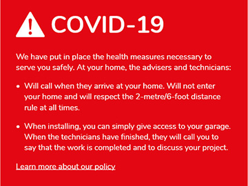 Our COVID-19 measures to serve you safely
