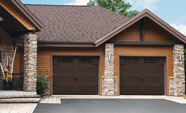 Shaker-NH LP, 9' x 8', Brun moka, fenêtres avec Appliques Bellevue