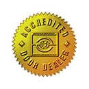 Accredited Door Dealer logo
