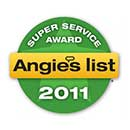 Angie's List Badge - Super Service Award - 2011
