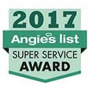 Angies List - Super Service Award - 2017
