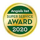 Angies List - Super Service Award - 2020