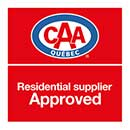 CAA Approved Residential Suppliers logo