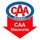 CAA discount logo