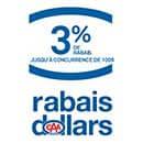 Logo Rabais CAA