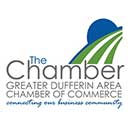 The Greater Dufferin Area Chamber of Commerce logo