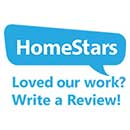 Home Stars - Loved Our Work? Write a Review Logo