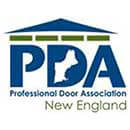 Professional Door Association of New England logo