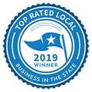 Top Rated Local Business in the State - 2019 winner