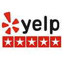 Yelp - Review Us On - Logo