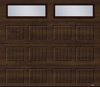 Standard+ North Hatley SP, 8' x 7', Noyer chocolaté, fenêtres Clair