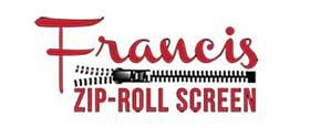 Francis ZIP-ROLL Screen Logo