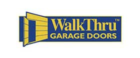 WalkThru Garage Doors logo