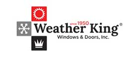 Weather King Windows and Doors logo