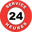 Service 24 heures