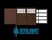 Residential garage doors offered by Steel-Craft Door - thumbnail