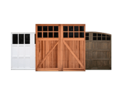 Wood, Vinyl and Composite Carriage House Doors thumbnail